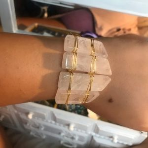 Gorgeous chunky crystal bracelet